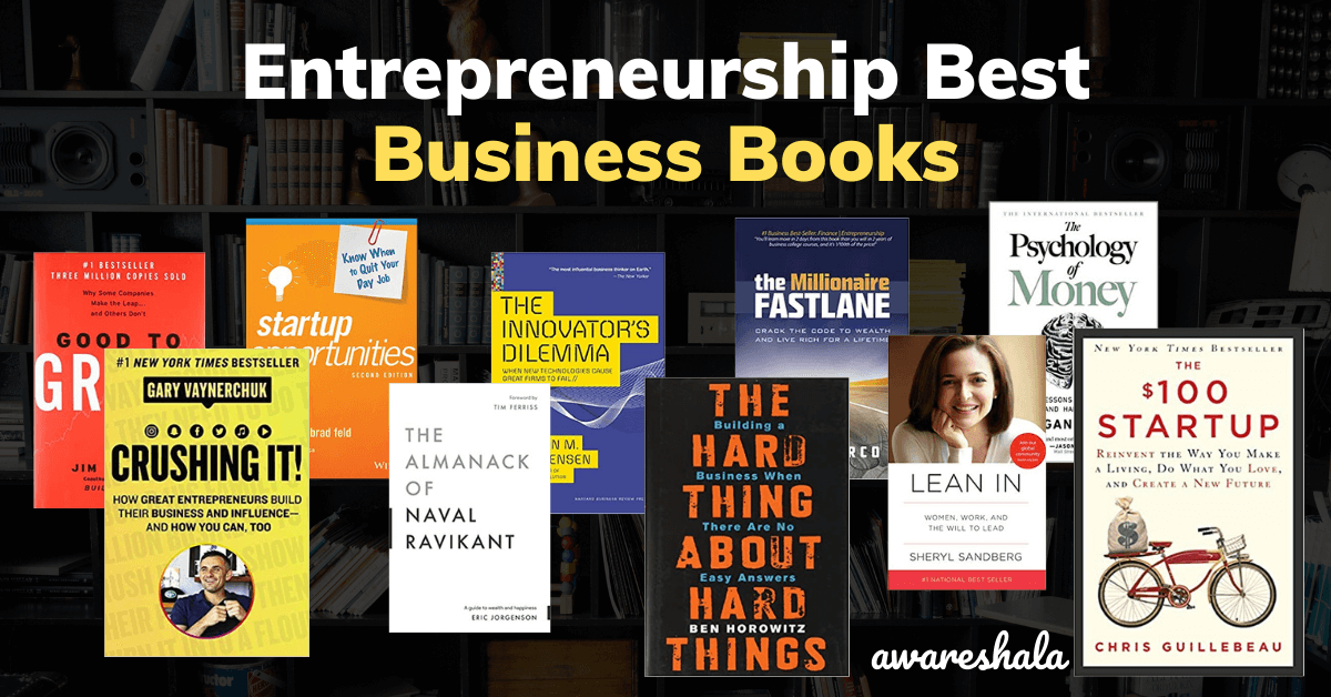 Entrepreneurship Best Business Books